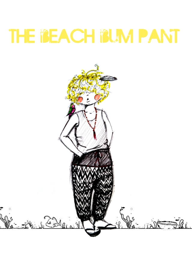 the beach bum pant